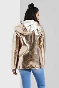 Women's Gold Festival Shower Proof Mac Coat