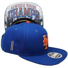 New York Mets Blue World Series New Era 9FIFTY MLB Vintage Snapback Hat