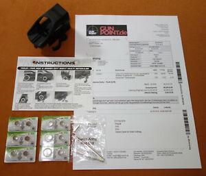 Swiss Arms Red / Green Dot vier verschiedene Absehen mit Batterien