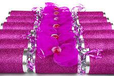 Feliz Cumpleaños impresionante Pink Bow galletas con cero tarjeta n chocs Caja de 6