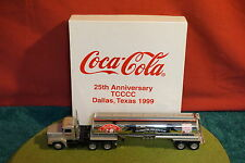 Winross Diecast Metal 1/64 truck Coca Cola Collectors Club Tanker 1999