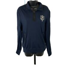 Disney Vacation Club Dvc Half Zip Pullover Wize Small