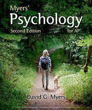 Myers' Psychology for AP by David G. Myers (Paperback,Revised Edition, 2014)