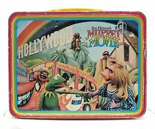 Vintage The Muppet Movie, The Muppets Steel Lunch Box, Jim Henson  1979