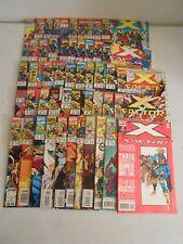 MARVEL X-FACTOR Ser 1 Lot (51 issues) #50-100