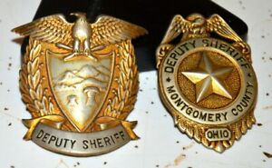 Montgomery County Ohio Vintage Law Law Enformance Badges