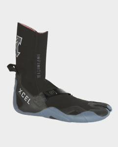 Xcel Infiniti 3MM Split Toe Bootie Mens in Black Grey - RRP $79.99