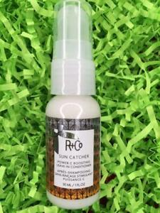 R+CO Sun Catcher Power C Boosting Leave-In Conditioner 1oz Travel Size - NEW!