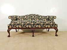 Kindel Furniture Winterthur 18th C. Camelback Carved Mahogany Chippendale Sofa