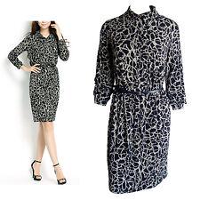 Graphic Print Shirt Dress Size 14