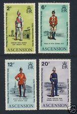 Military Uniforms - Ascension Islands - Scott 173 - 176
