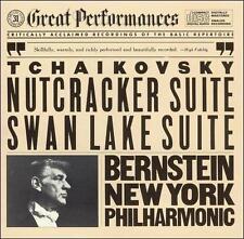 Tchaikovsky: Nutcracker Suite/Swan Lake Suite (CD,CBS) Bernstein/NY Philharmonic