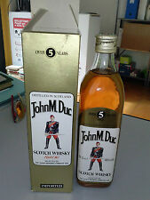 RARO Scotch Whisky JOHN M.DUC  5yo Scotland - 70cl 40vol.