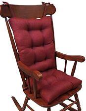 NEW The Gripper Non-Slip Omega Jumbo Rocking Chair Cushions, Flame FREE2DAYSHIP