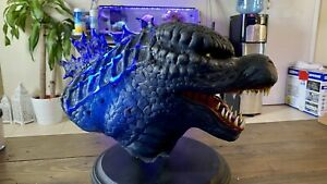 Godzilla Silicone Sculpture / Bust