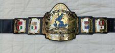 WWF Andre 87 Championship Belt Replica, 4mm Zinc Plates, Adult Size. 24k Gold.