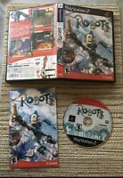 Robots (Sony PlayStation 2, 2005) PS2 Complete CIB