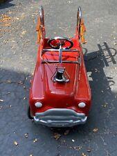 Vintage 1955 Murray Fire Truck Pedal Car Hallmark GORGEOUS Sad Face Mint