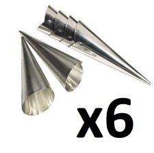 Fox Run Cream Horn Molds, 6 Sets of Six (4508)