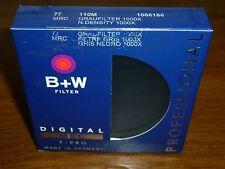 B+W 77mm MRC 110M 3.0 (1000X - 10 Stop) Solid Neutral Density Filter#1066186