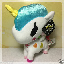 "Tokidoki Neon Star Unicorno BELLA 7"" Plush NWT WITH MINOR DEFECT"