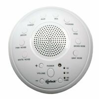 SonTech - White Noise Sound Machine - 10 Natural Soothing Sound Tracks White