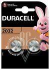 Duracell Knopfzellenbatterie 2032 CR2032 3V, 2er Pack