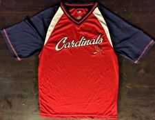 St Louis Cardinals Mesh Shirt Jersey Medium M Mlb Baseball Blue Red Molina Ozuna