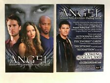 CHEAP PROMO CARD: Angel Season 4 Inkworks 2003 #A4-i ONE SHIP FEE PER ORDER