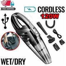 2020 Cordless Car Vacuum Cleaner Rechargeable Wet/Dry HEPA Handheld Duster Home