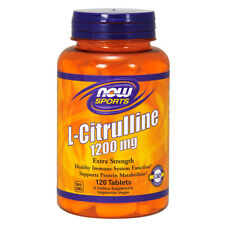 L-Citrulline, Extra Strength, 1200mg x 120 Tablets - NOW Foods