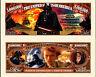DARK VADOR STAR WARS BILLET MILLION DOLLAR US Collector A. Skywalker Darth Vader