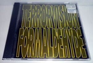 TERRORVISION - FORMALDEHYDE CD ALBUM 1992 LIMITED EDITION ATVRCD1 TOTAL VEGAS