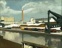 American Landscape : Charles Sheeler : Archival Quality Art Print