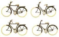 Artitec 387.27 Deutsche Fahrräder H0 1:87 Fertigmodell Handbemalt Fahrrad