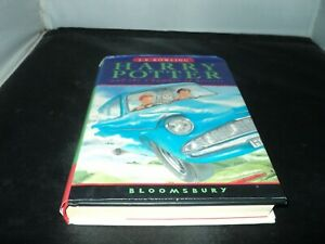 Harry Potter and the chamber of secrets J K Rowling hardback Bloomsbury 22nd