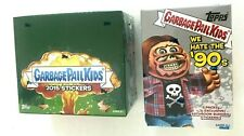 2015 TOPPS GARBAGE PAIL KIDS RETAIL  AND 2019 WE HATE THE 90's BLASTER BOX COMBO