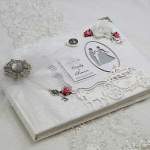 Boxed & Personalised Cinderella inspired Wedding, Baby, Guest Book