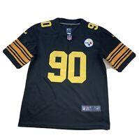 TJ WATT #90 Pittsburgh Steelers Stitched NIKE ON FIELD NFL Jersey Size Medium