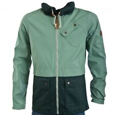 Bench Lynden Green Hooded Jacket  BMKA1523 Concealed Hood