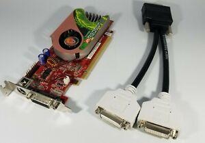 Visiontek ATI Radeon X1300 256MB Dual DVI PCIe Video Card VT-X1300DMSPCIe Win 7