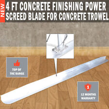 NEW 4ft Concrete Finishing power Screed Blade For Concrete trowel