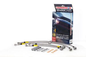 Goodridge Stainless Steel Brake Lines for 09-13 Nissan Maxima