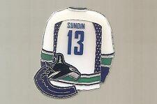 "Vancouver Canucks  ""Mats Sundin #13""  NHL Hockey pin"