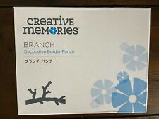 Creative Memories Branch Decorative Border punch Tree Branches Punch Retired
