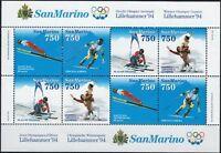 1994 San Marino Lillehammer '94 MNH** Foglietti