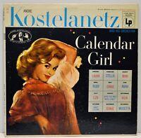 "ANDRE KOSTELANETZ   ""Calendar Girl""    1956 Vinyl LP   Columbia Cl811"