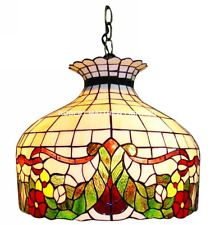 Large Bistro Tiffany Ceiling Pendant Shade  RD2218
