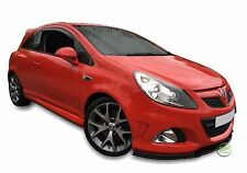 VAUXHALL CORSA D mk3 3 Door 2006-2014 SET OF FRONT WIND DEFLECTORS 2pc HEKO