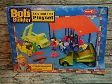 Rare BOB THE BUILDER skip and trix Playset
